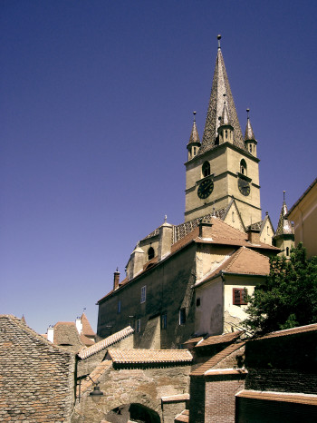 Lutheran Church Tower, Sibiu