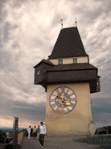 Graz Schlossberg's Clock Tower