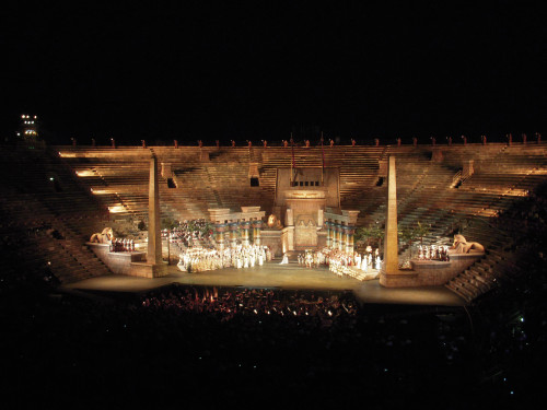 June 28, 2009 - Aida at the Verona Arena