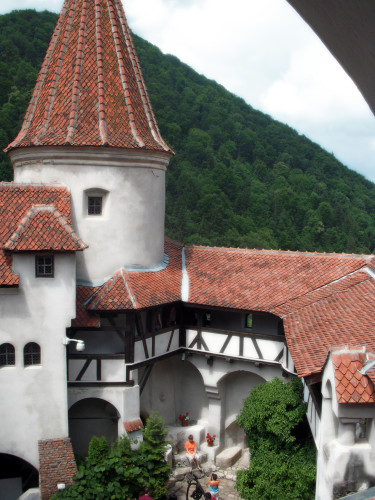 July 3, 2009 - View across Bran Castle