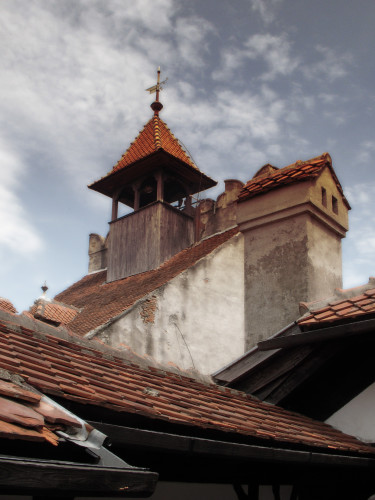 Chimney Detail, Bran Castle